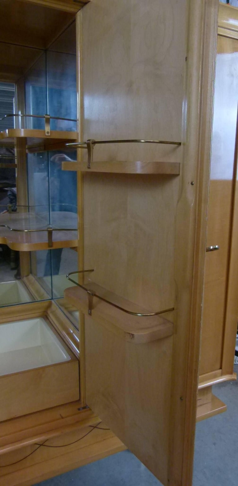 Bar Cabinet in Sycomore For Sale 4