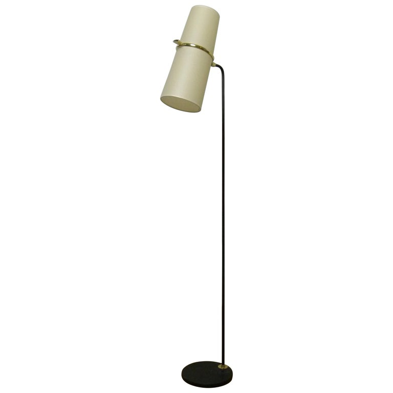 1950s Floor Lamp by Maison Lunel