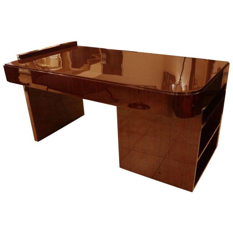 Modernist Art Deco Desk