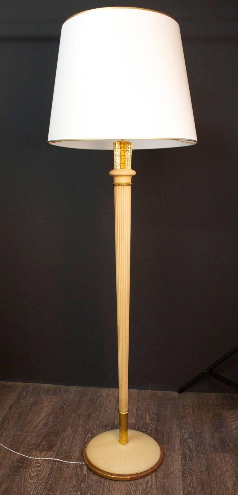 Mid-20th Century Art Deco Floor Lamp For Sale