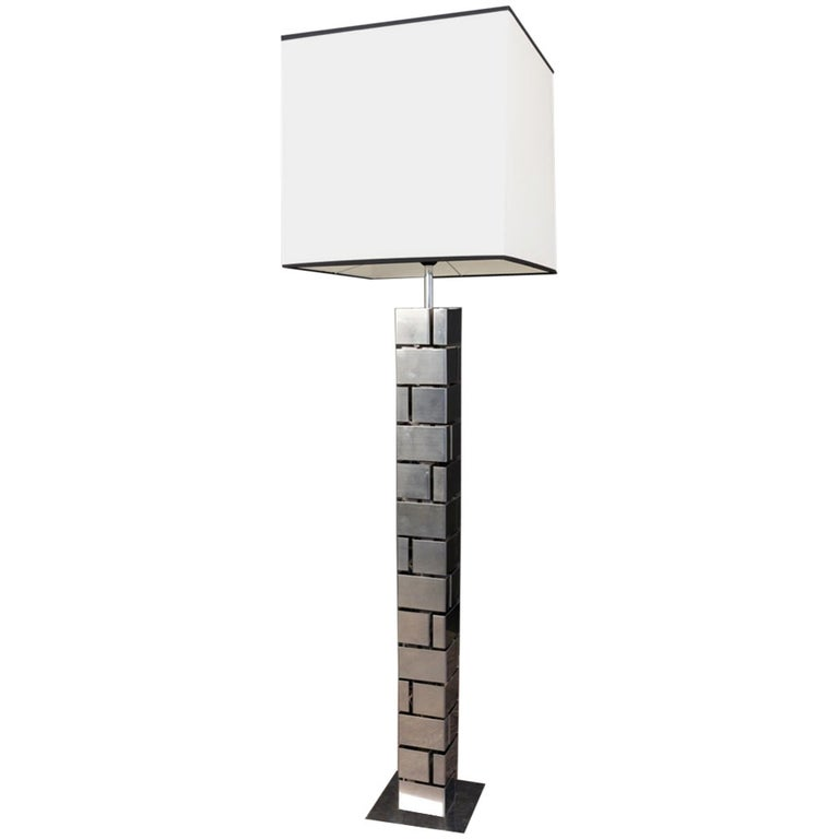 1970s Floor Lamp by Curtis Jere