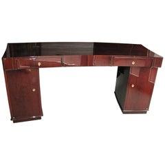 Art Deco Desk by Dominique in Rio Rosewood