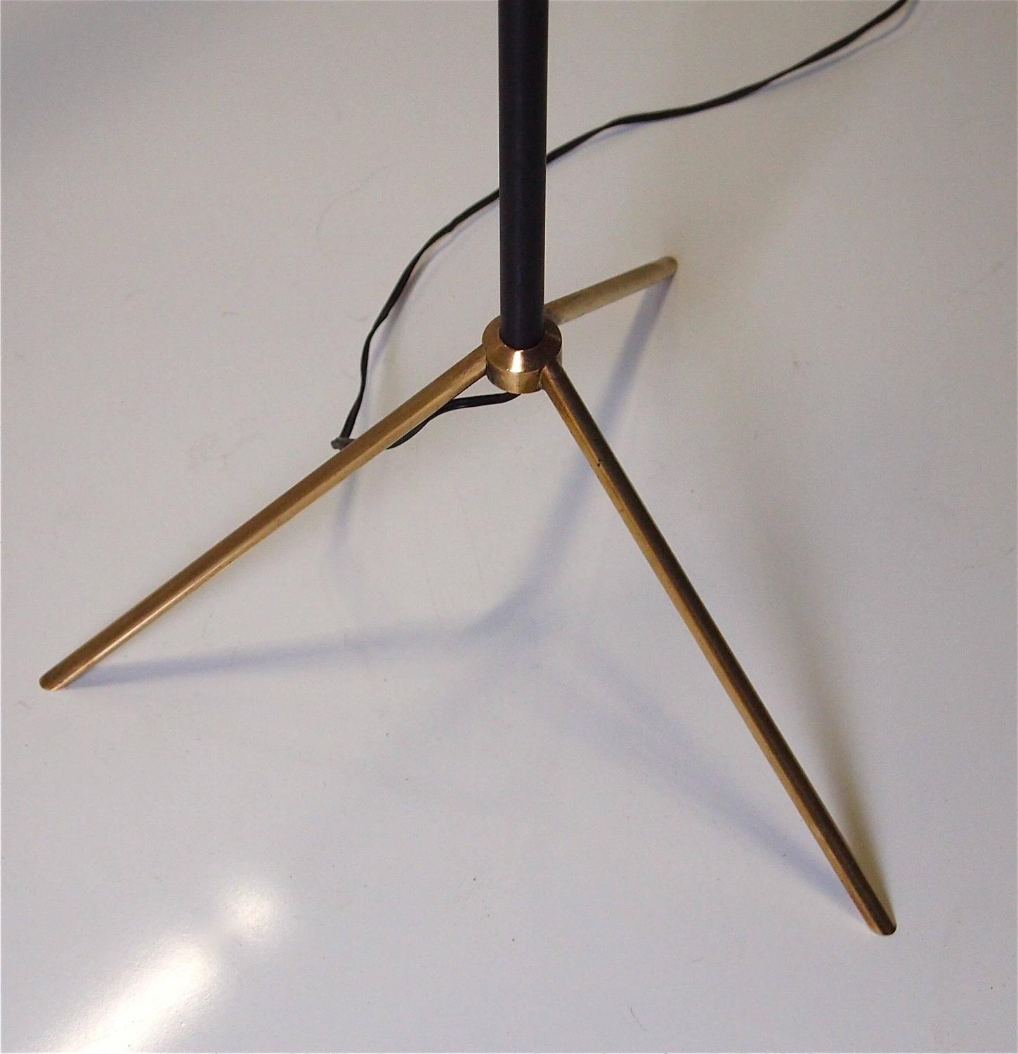 1950s Floor Lamp By Maison Arlus At 1stdibs
