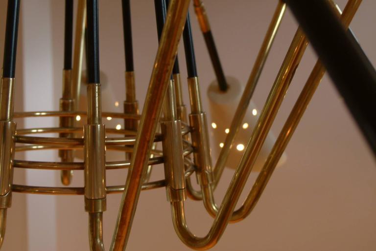 1950s Ten Lights Italian Chandelier 7