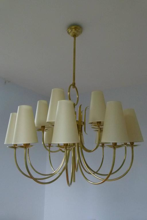 1950s French Chandeliers, circa 1950 2