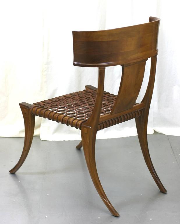 Greek T.H. Robsjohn-Gibbings Klismos Chairs by Saridis, Athens For Sale