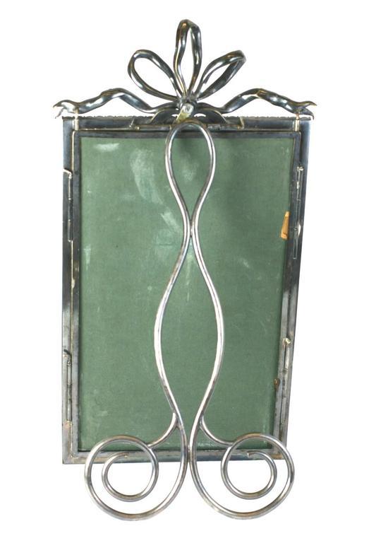 Brass Wonderful Victorian Jeweled Paste Set Frame For Sale