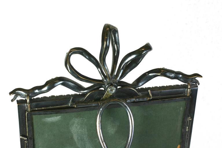 Wonderful Victorian Jeweled Paste Set Frame For Sale 3