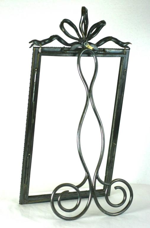 Wonderful and rare Victorian paste set frame from the mid-late 19th century. An extraordinary and massive piece of