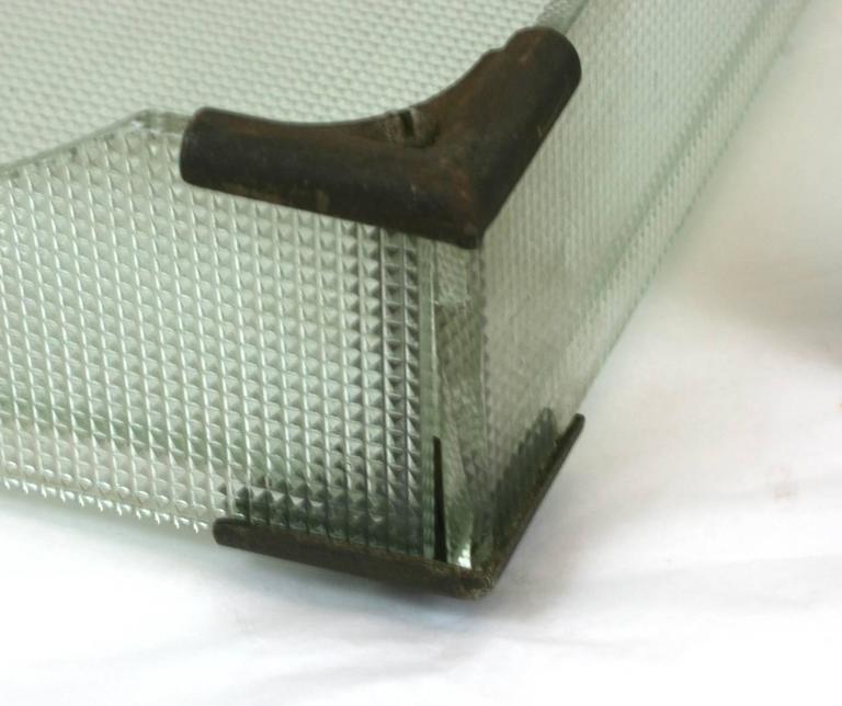 Art Deco Glass Letter Holders For Sale 2