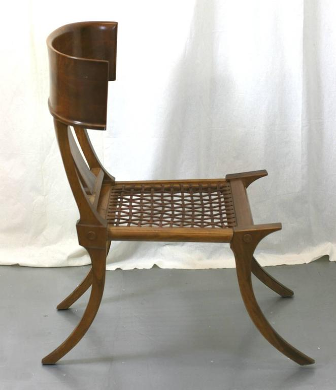 T.H. Robsjohn-Gibbings Klismos Chairs by Saridis, Athens In Excellent Condition For Sale In Riverdale, NY