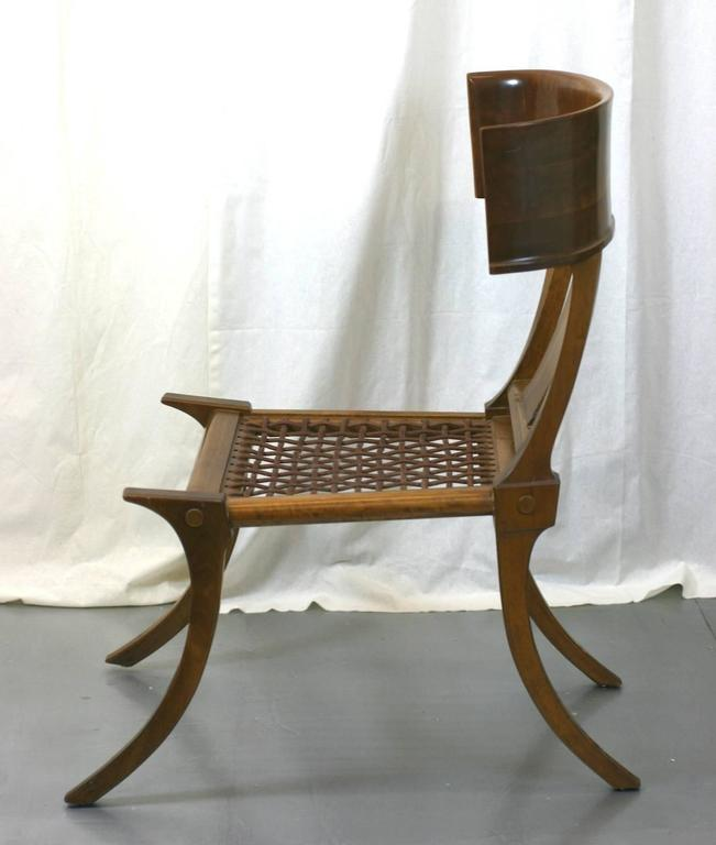 Mid-20th Century T.H. Robsjohn-Gibbings Klismos Chairs by Saridis, Athens For Sale