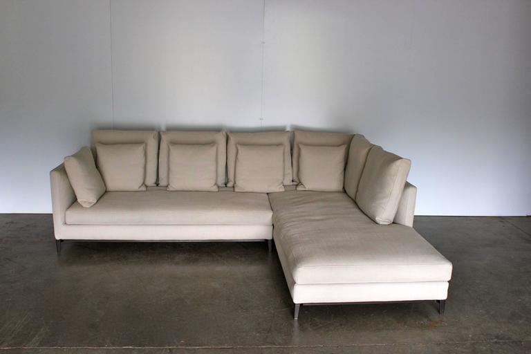 On Offer On This Occasion Is A Superb, Minotti U201cAndersen Slim 103 Quiltu201d
