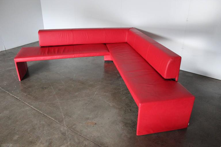 Walter Knoll Together 290 Corner Seat L Shape Sofa In