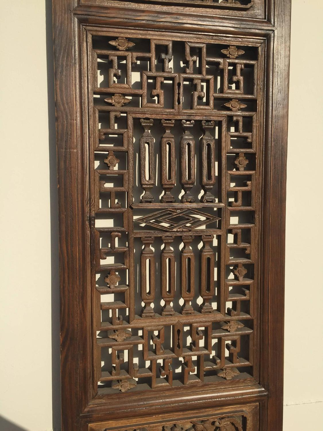 Chinese Antique Door Or Screen Panel For Sale At 1stdibs. Full resolution  img, nominally Width 1125 Height 1500 pixels, img with #9B7D30.