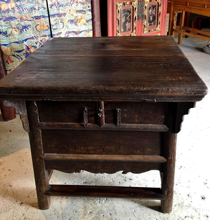 Antique farm table rustic country 19th century for sale for Rustic farm tables for sale