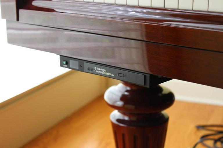 Louis XVI Style Mahogany Baby Grand Piano with Automatic Player 2