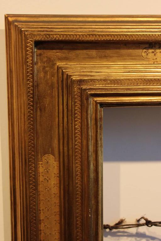Signed Frederick Harer Gilt Wood Frame At 1stdibs