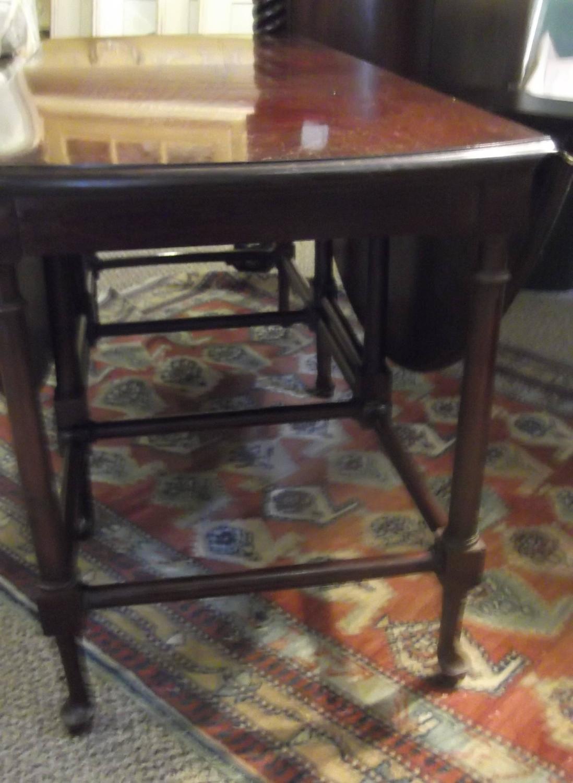 vintage baker furniture gate leg cocktail table at 1stdibs