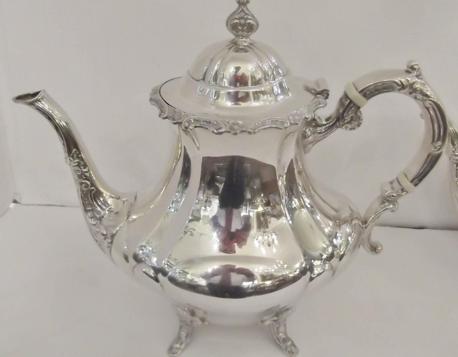 Sterling Silver Reed And Barton Tea Set For Sale At 1stdibs