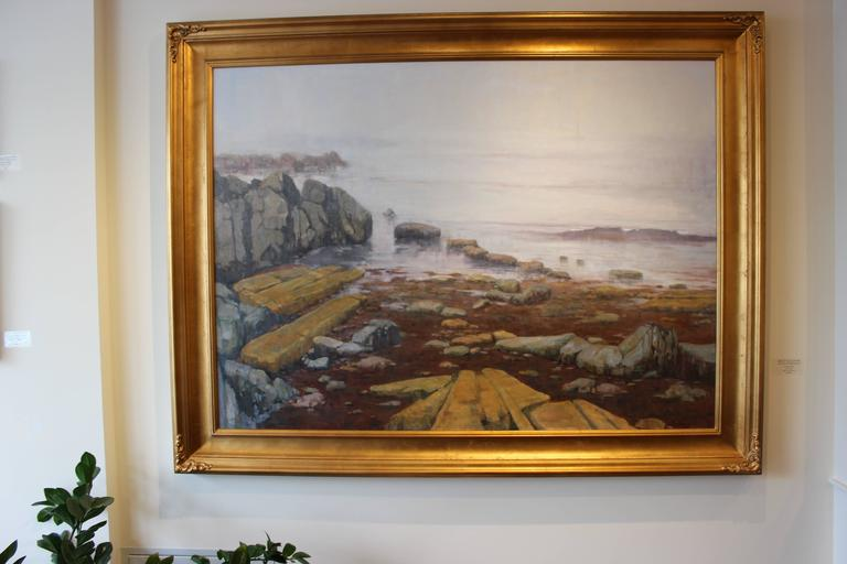 Maine Coast Original Oil Painting From Set Of Madam Secretary