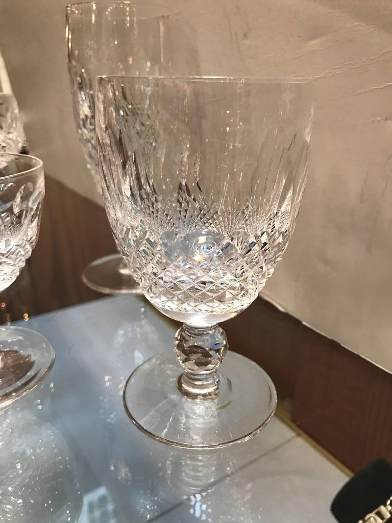 Extensive set of hand cut irish crystal stemware by waterford an extensive set of waterford irish crystal with 12 pcs of 5 sized stems this reviewsmspy