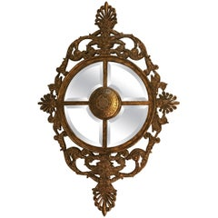 Labarge Sectioned Medallion Mirror