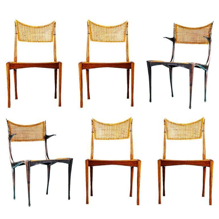 "Dan Johnson ""Gazelle"" Chairs"
