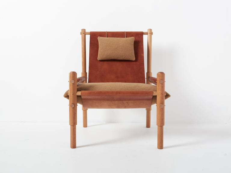 The Sling Chair Two Is An Elemental Take On Campaign Style Furniture With A
