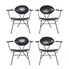Joseph Cicchelli Armchairs for Reilly Wolf