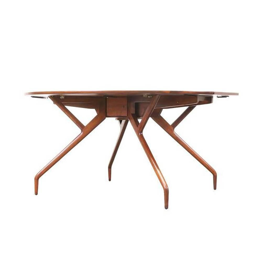 Glenn Of California Folding Leaf Dining Table For Sale At