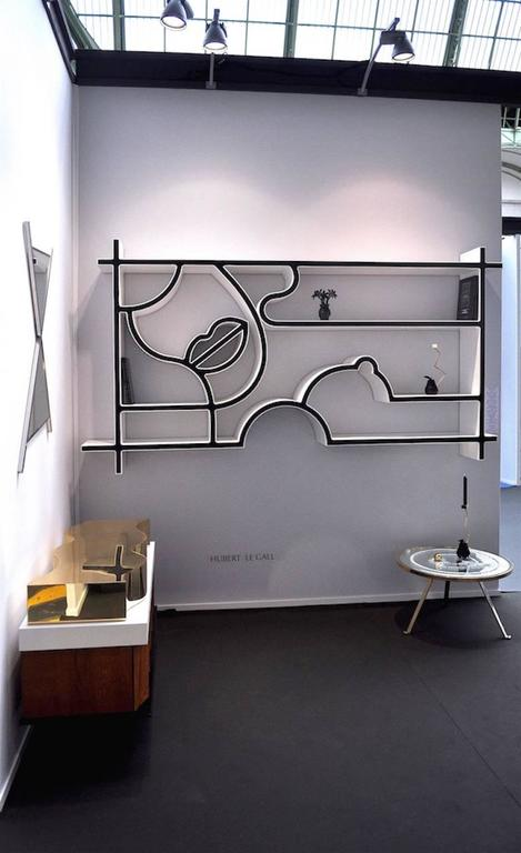 """Bookcase Mlle Z """"Tribute to Tom Wesselmann"""" 2"""