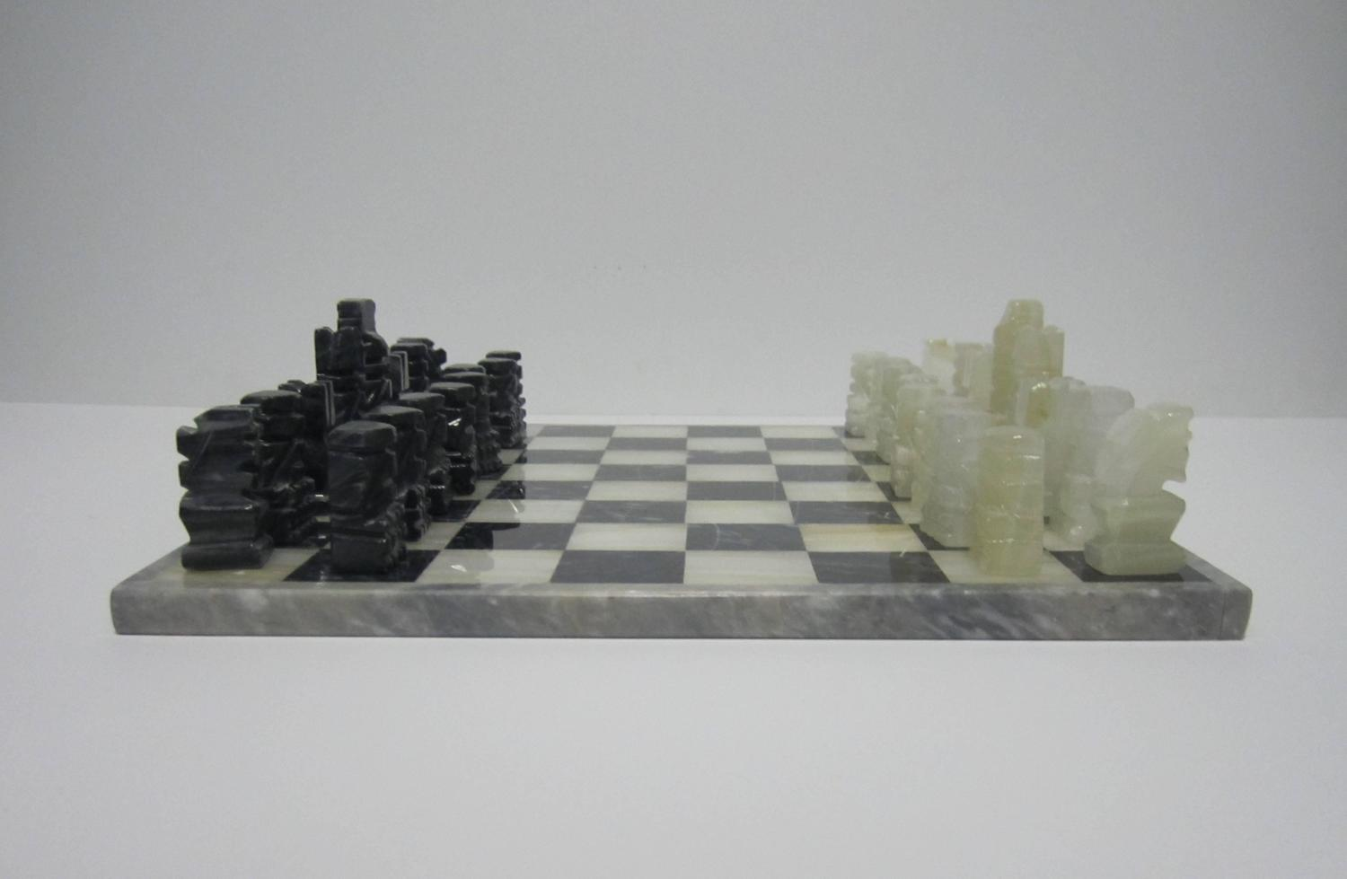 how to use onyx chess set in decorating