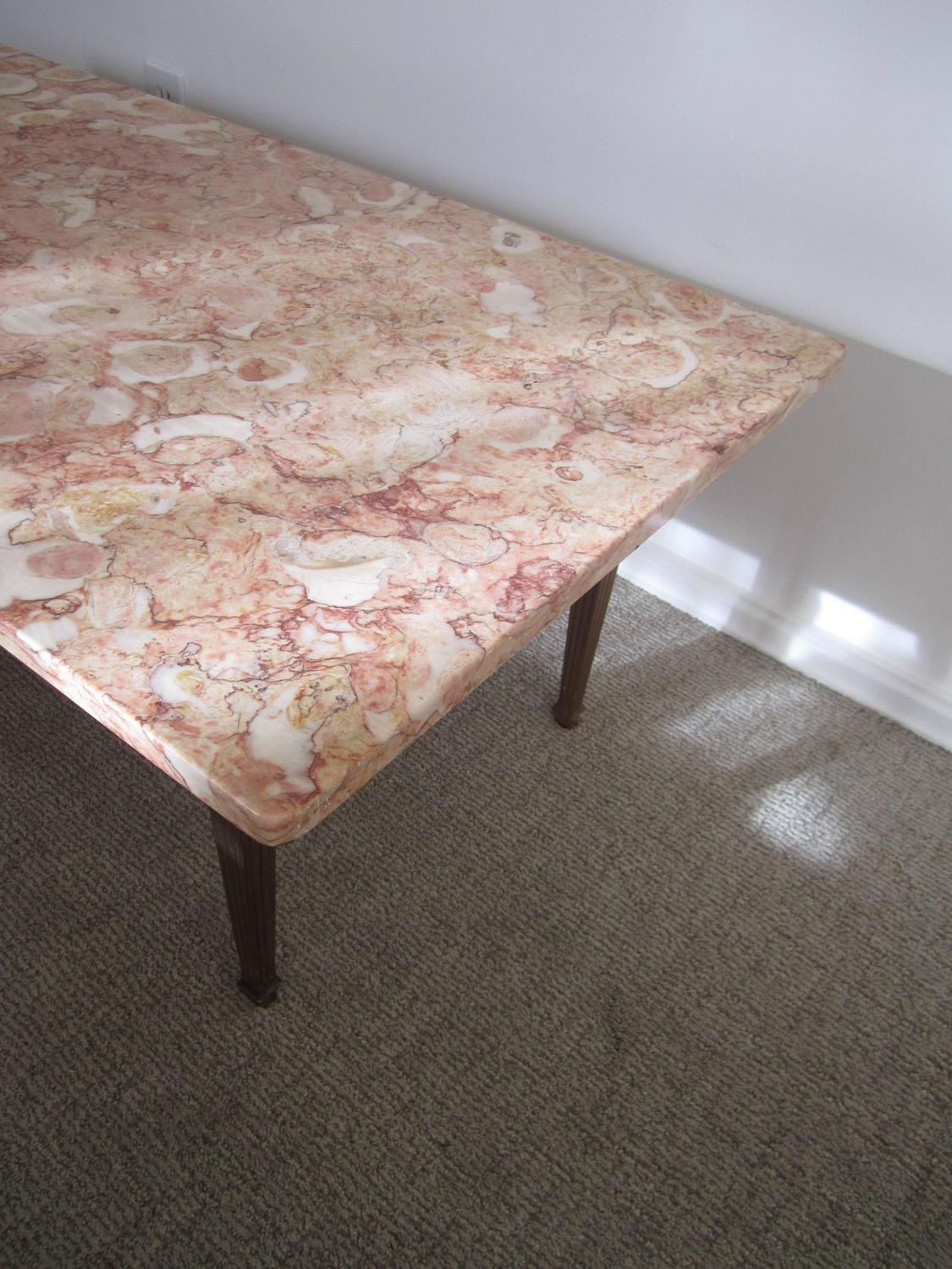 Beautiful Vintage Italian Marble Coffee Table Italy 1950s For Sale At 1stdibs
