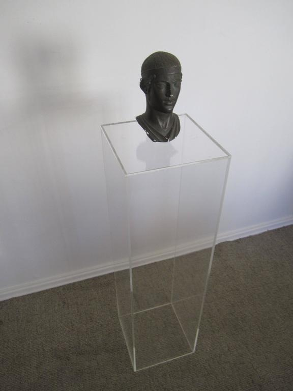 Acrylic Pedestal Stand At 1stdibs