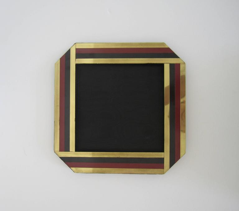 Italian Vintage Modern Picture Frame Italy 1970s For Sale