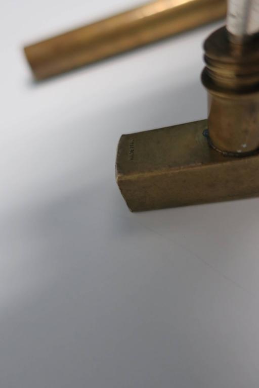 Italian Brass Hammer Tool Corkscrew Bottle Opener  For Sale 1