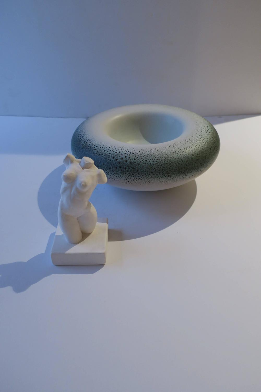 Signed Italian Ceramic Pottery Bowl For Sale At 1stdibs