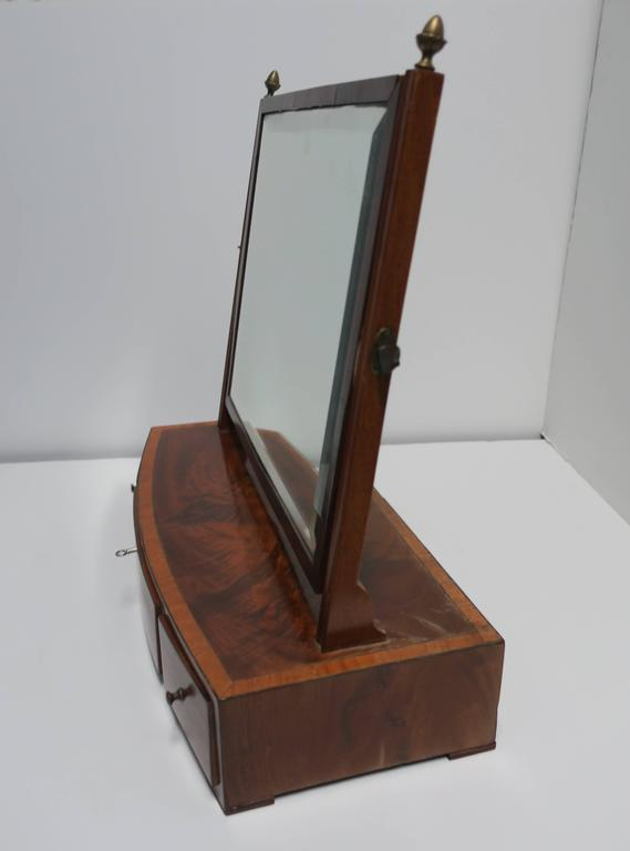 Antique Vanity Mirror with Drawers For Sale 3