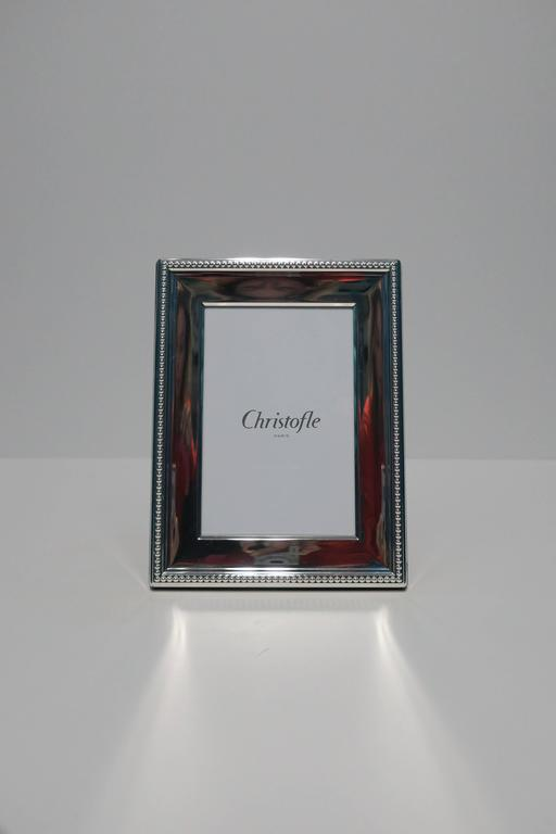 Christofle Silver Plate Picture Or Photo Frame France At 1stdibs