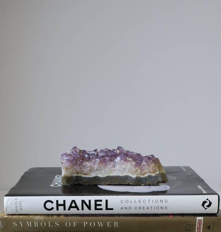 20th Century Purple Amethyst Decorative Object or Paperweight For Sale