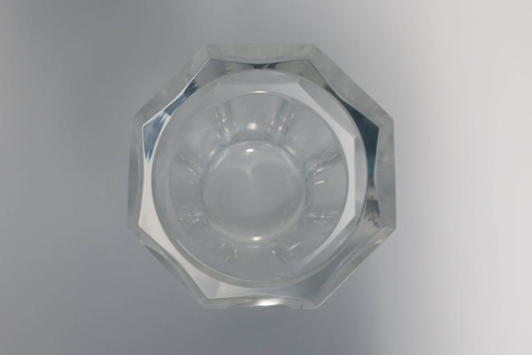 Vintage Modern Lucite Champagne Wine Cooler Ice Bucket, 1990s For Sale 4