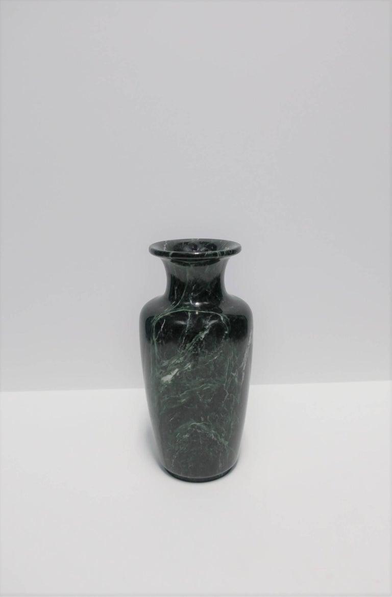Vintage modern urn form dark green and white marble vase for sale a substantial post modern urn form dark green and white marble vase circa 1970s reviewsmspy
