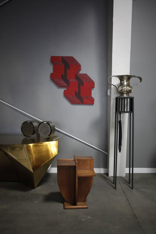 Brass Contemporary 'Khnum' Table Lamp by Material Lust, 2015