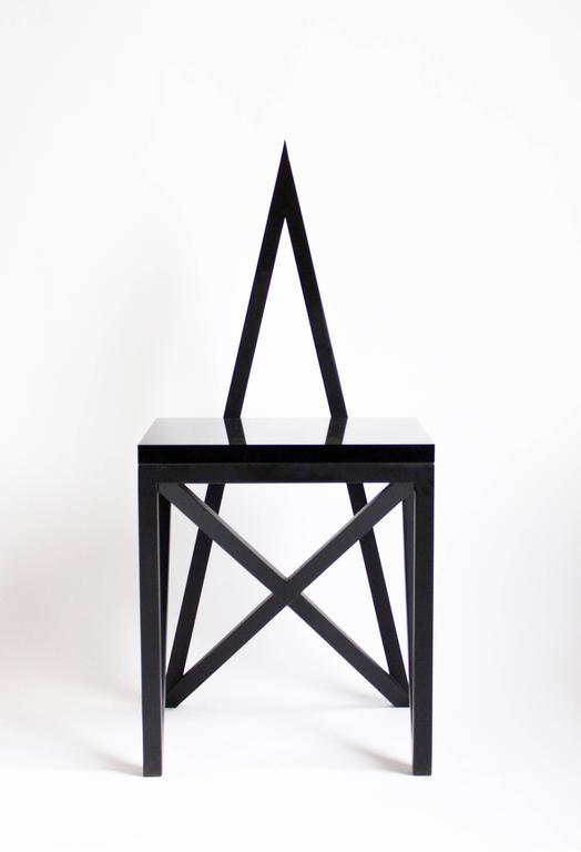 The Geometry is God line is driven by a fascination with Pagan and Alchemical symbolism and ancient geometries. With this series, we have attempted to reinterpret these markings without losing the potency of their primary aesthetic. The goal is to