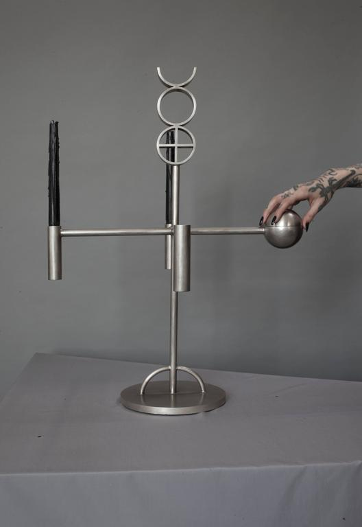 Contemporary  'Alchemy Altar' Candelabra by Material Lust, 2014 In New Condition In New City, NY
