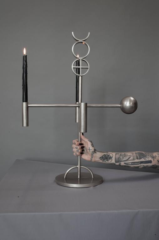 Contemporary  'Alchemy Altar' Candelabra by Material Lust, 2014 1