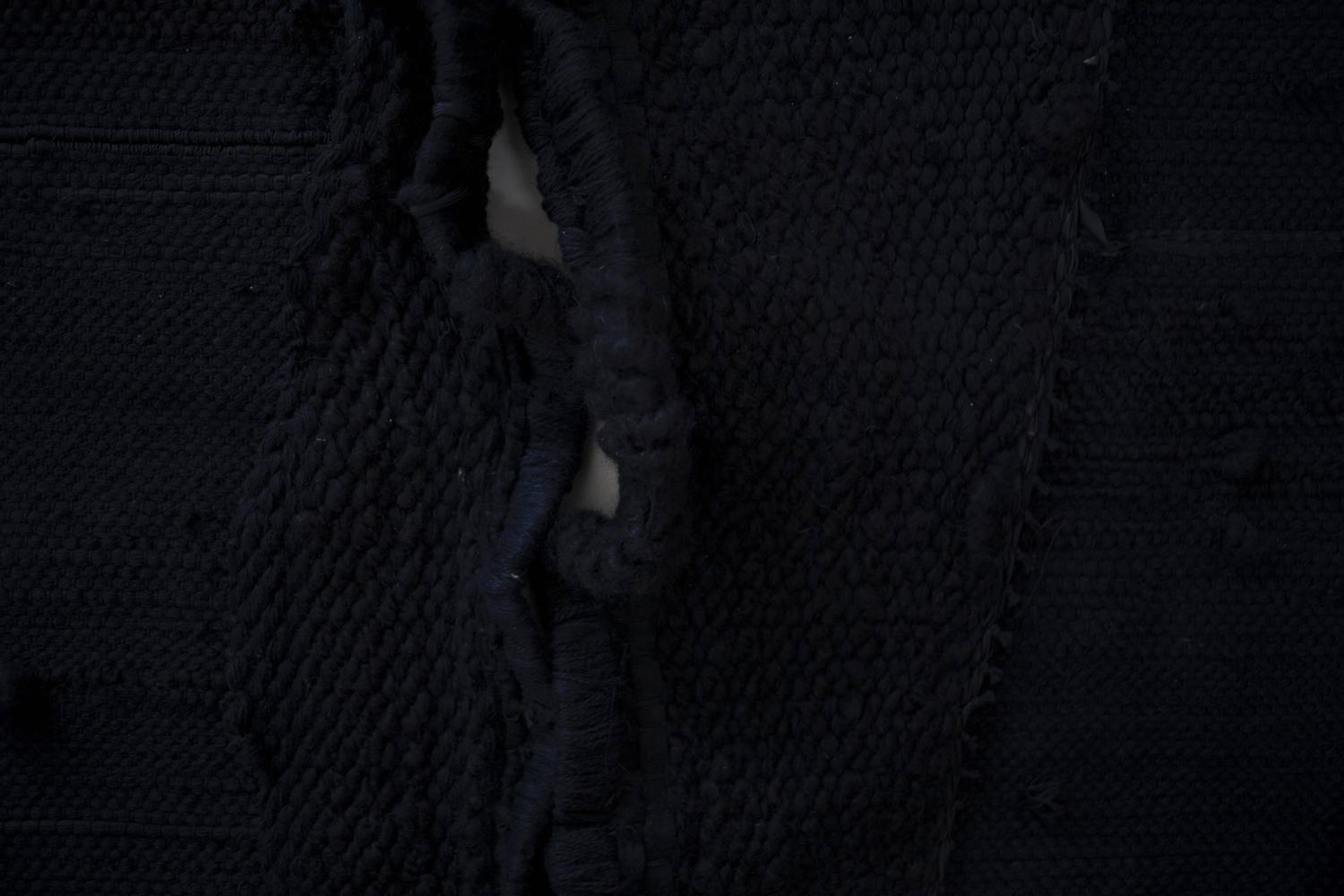 Contemporary Black Rug Derma Skin I By To D 248 Dsfall X