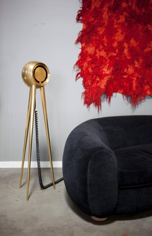 Contemporary Brass 'Crepuscule' Floor Lamp by Material Lust, 2016 3