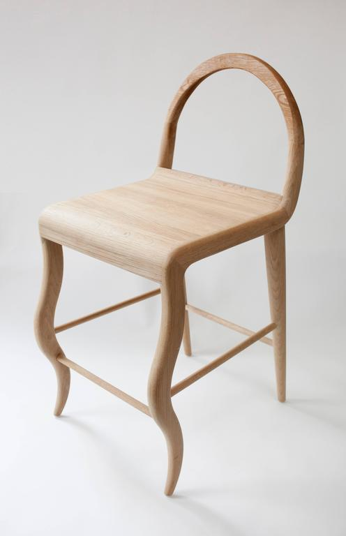 Contemporary Oak Stool by Material Lust, 2016 1